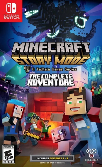 Jogo Do Nintendo Switch Minecraft Story Mode The Complete