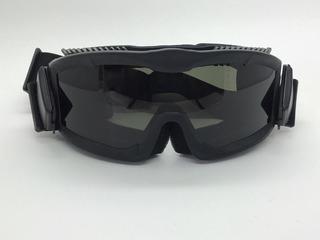 Óculos Tático Goggle Anti-fogging 3 Lentes Airsoft Cor Preto