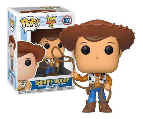 Imagem 1 de 3 de Boneco Funko Pop Xerife Woody 522 Toy Story - Original