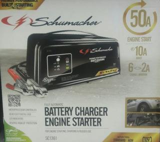 Cargador Y Arrancador De Baterias Automotriz
