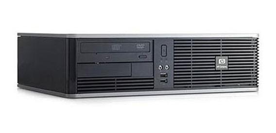 Cpu Hp Core 2 Duo 4gb Hd 80 + Monitor 17