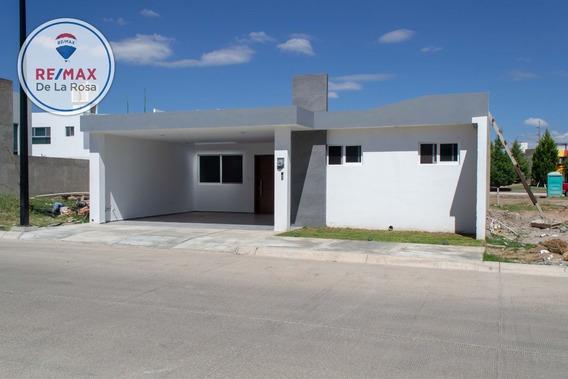 Casa En Venta Una Sola Planta Fraccionamiento El Roble
