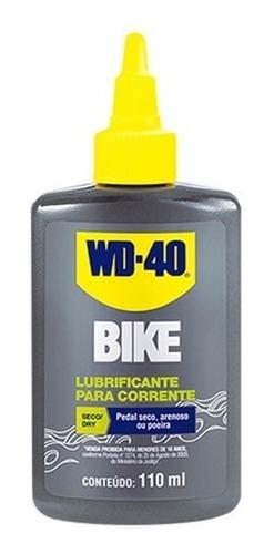 Imagem 1 de 3 de Óleo Lubrificante Wd40 110ml Bike Dry/seco 544990 Wd-40
