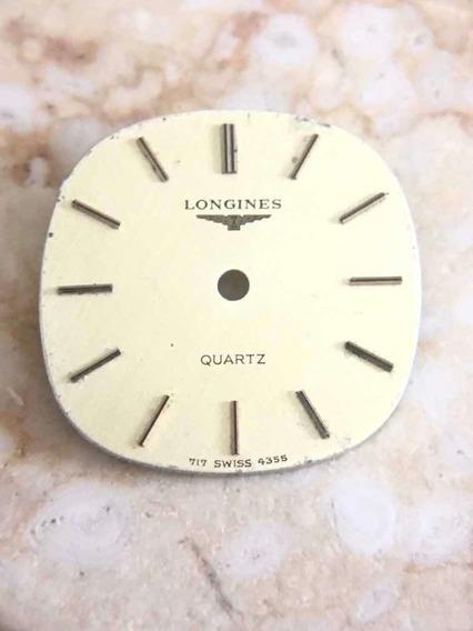 Carátula Reloj Longines