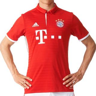 Playera Futbol Soccer Local Fc Bayern Hombre adidas Ai0049