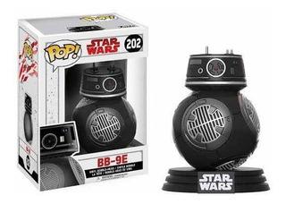 Funko Pop Bb-9e De Star Wars #202 Con Protector
