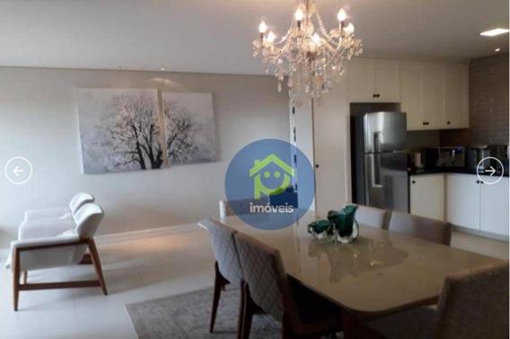 Apartamento Com 3 Dormitórios À Venda, 112 M² Por R$ 480.000 - Jardim Vivendas - São José Do Rio Preto/sp - Ap7302