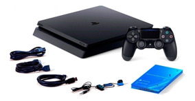 Console Playstation 4 Slim 1tb Preto Sony Hdr 4º Geração New