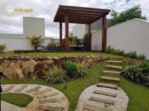 Imagem 1 de 30 de Casa Com 3 Suítes À Venda, 300 M² Por R$ 1.950.000 - Condomínio Jardim Theodora - Itu/sp - Ca1198