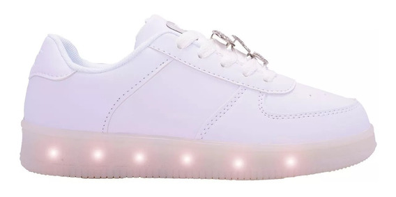 Zapatilla Footy 47 Street Con Luz Led Pines 47stl153 Cbl
