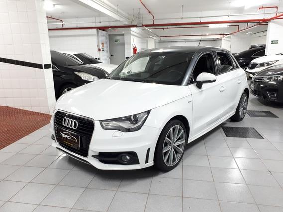Audi A1 Sportback Ambiente 185cv 2014 Branco Top Baixo Km