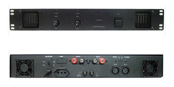 Amplificador De Potência Sankya Sl 600 - Usado