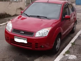 Ford Fiesta Vermelho 1.6 Mpi Class Sedã 8v Flex 4p Manual