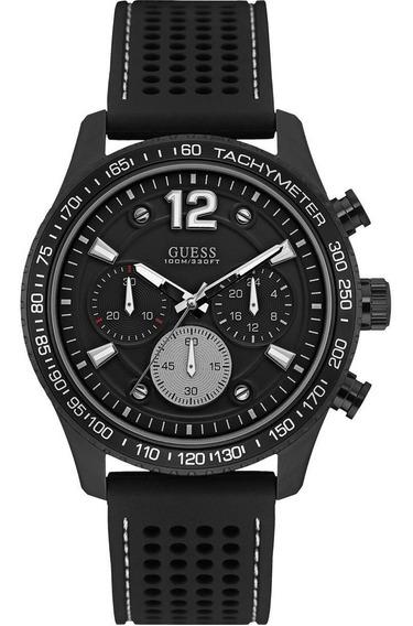 Relógio Masculino Guess 92644gpgspu2 Aço Negro