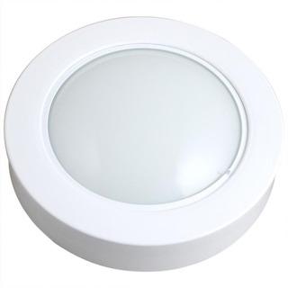 Luminária Circular De Sobrepor Com 46 Leds Brancas - 6500k-s
