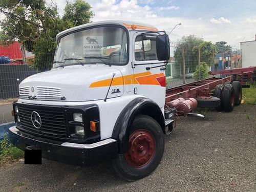 Mb 1118 - 88/88 - Truck, No Chassi, Direção Hidráulica