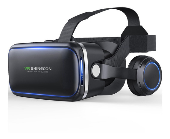 Virtual Reality 3d Vr Headset Óculos 36artphone Cor: Preto