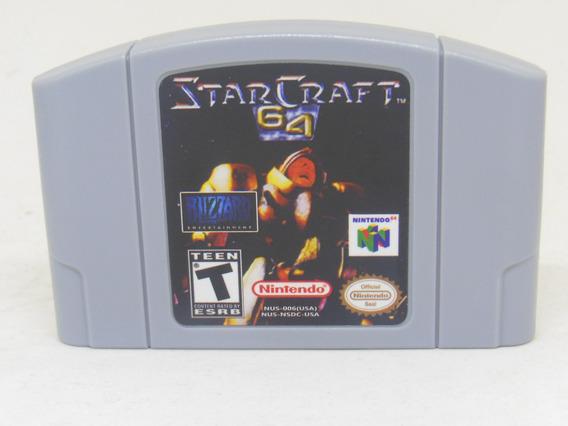 Star Craft Nintendo 64 Novo N64 + Garantia