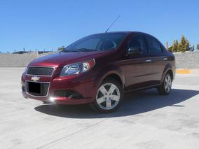 Chevrolet Aveo 1.6 Lt Mt Sedán 2016 Rojo