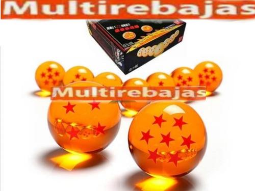 Caja Kit De 7 Esferas De Dragón Ball Z