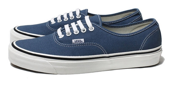 Zapatillas Vans Authentic Navy Azul Marino Unisex Original