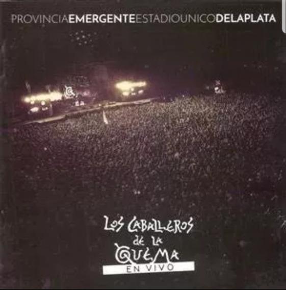 Los Caballeros De La Quema En Vivo Cd + Dvd