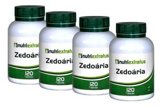 Curcuma Zedoária Curcumina 480 Capsulas 300 Mg 4 Potes