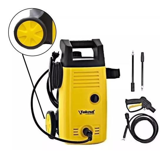 Lavadora De Alta Pressão 1400w Hlx1101v Tekna Lavar Carro