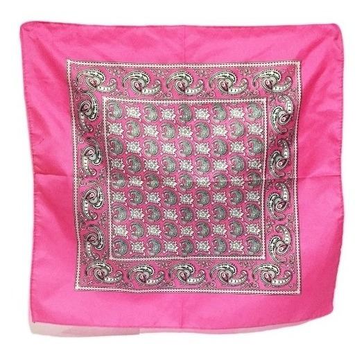 80 Paliacate Pañuelo Moda Mascada Tradicional 60x60