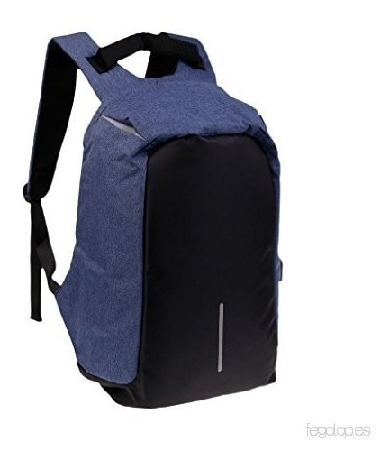 Mochila Antirrobo Smart Carga Usb Notebook Tablet Celular !!