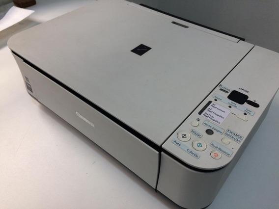 Impressora Canon Mp250 Estragada - Liga Mas Não Imprime