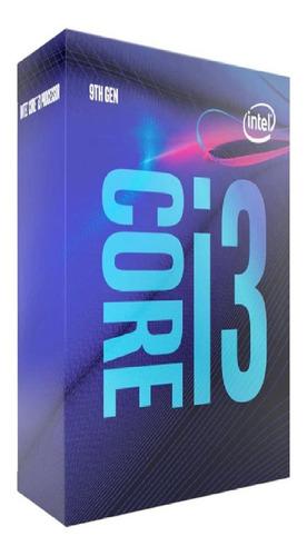 Cpu Intel Core I3-9100f 3.60ghz 6mb - Intel Bx80684i39100f