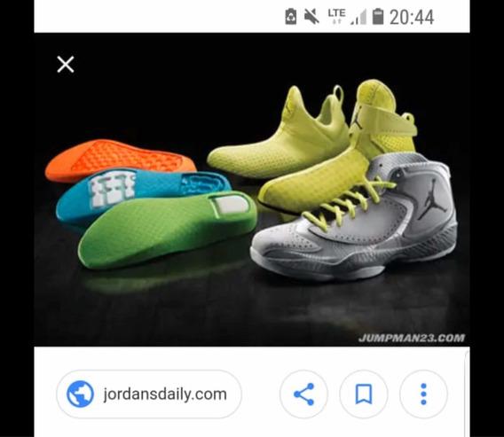 Tênis Michael Jordan 3 Palmilhas