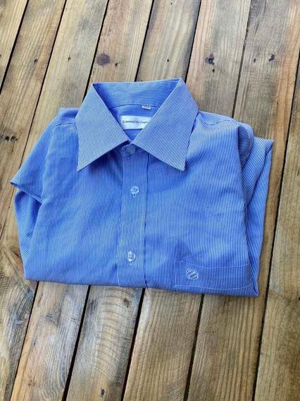Ermenegildo Zegna Camisa Para Caballero Talla M