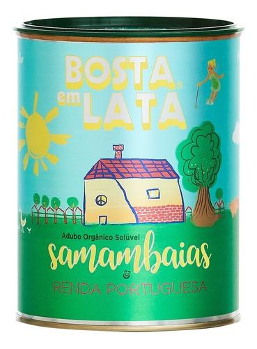 Fertilizante Orgânico Bosta Em Lata Samambaias - 400 G