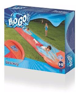 Deslizador De Agua Tobogan Inflable H2ogo Doble Bestway