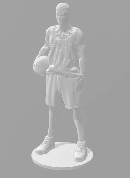 Hanamichi Sakuragi - Stl - Diseño 3d - Impresión 3d