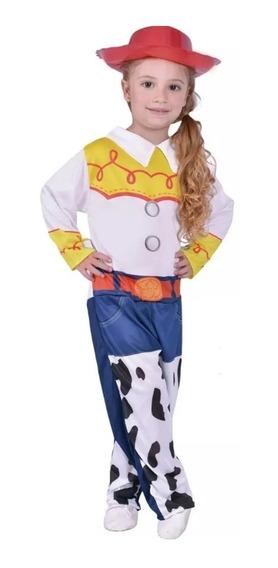 Disfraz Vaquerita Jessie Toy Story Original Con Sombrero