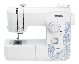 Máquina de coser Brother LX3817 Blanco 110V