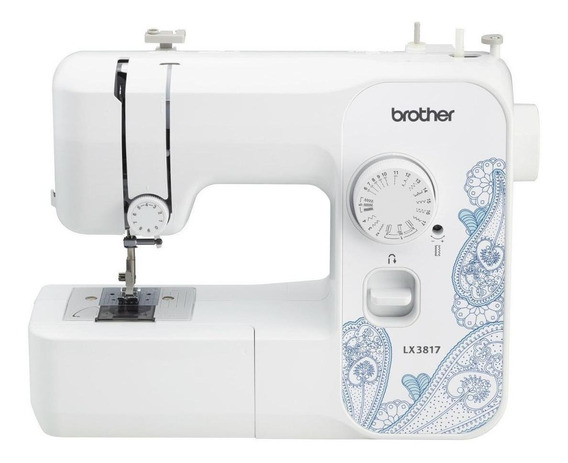 Máquina de coser Brother LX3817 Blanco 110V