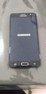 Celular Samsung J7 Prime Negro (claro) Con Funda Y Auricular