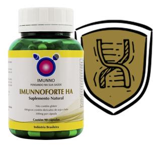Imunnoforte Ha 90 Cps Suplemento Natural Para Imunidade