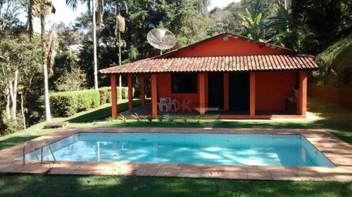 Imagem 1 de 11 de Chácara Com 2 Dormitórios À Venda, 6000 M² Por R$ 610.000,00 - Recanto Das Águas - Igaratá/sp - Ch0173