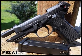 Beretta 92 A1 92a1 Fullmetal Retroceso Automatica Co2
