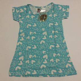 Vestido Infantil Algodão 4 6 8