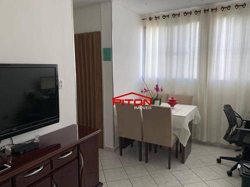 Apartamento Com 2 Dormitórios À Venda, 49 M² Por R$ 210.000,00 - Vila Sílvia - São Paulo/sp - Ap2241