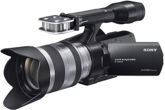 Filmadora Sony Handycam Nex-vg20h Hd Com Lente 18-55mm