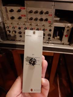 Preamplificador Siemens V270 Y V297 -api-avalon-telefunken