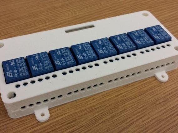 Suporte Case Para Shield Relé Arduino