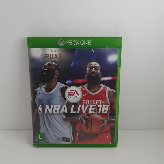 Jogo Usado Nba Live 18 Xbox One Em Estoque Oferta